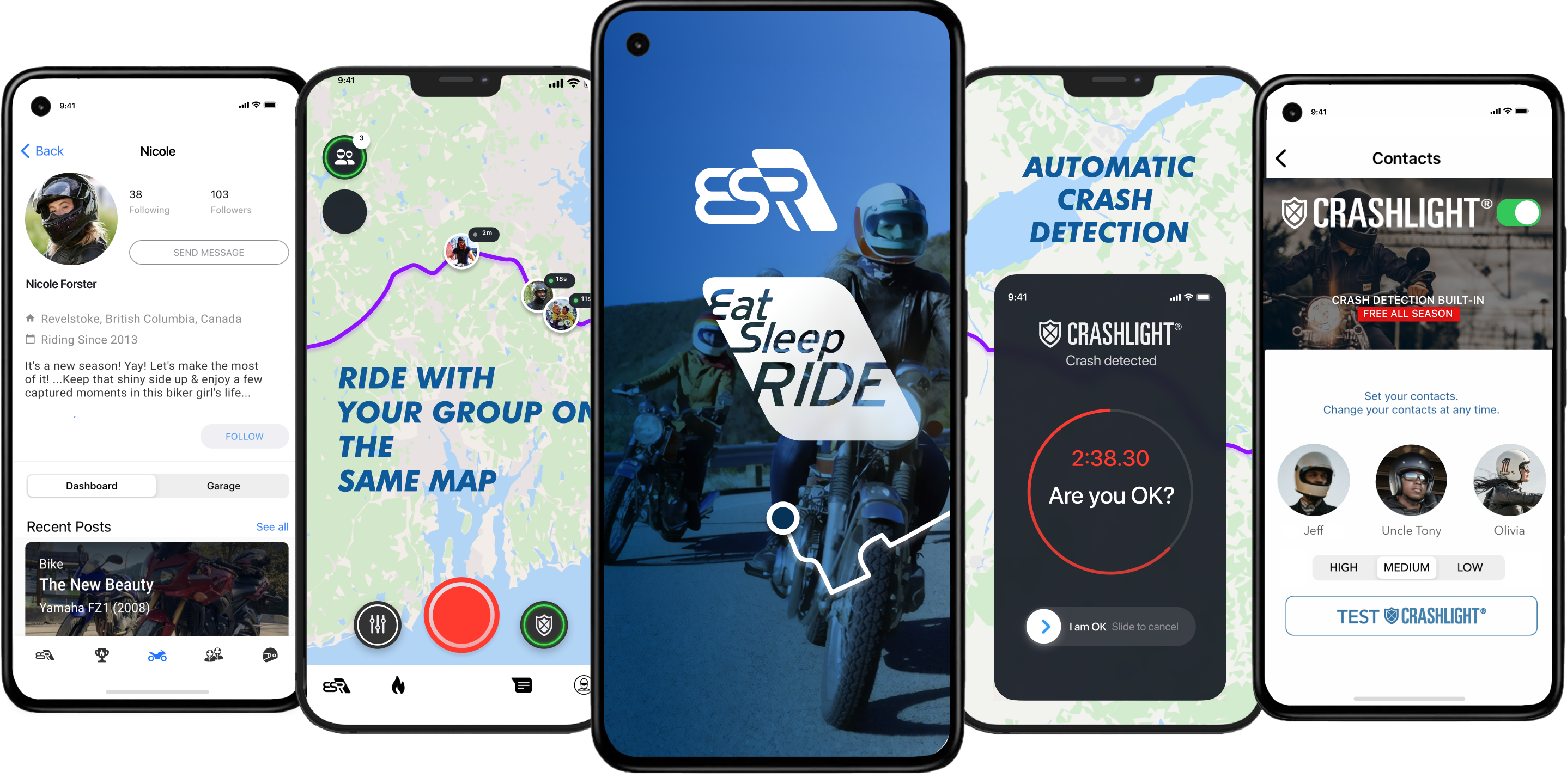 EatSleepRIDE Motorcycle GPS for iOS and Android makes it ...